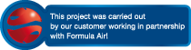 This project was carried out by our customer working partner with Formula Air